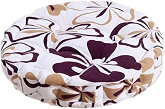 Home/Office Beautiful Round Chair Cushion Floor Cushion Pillow Seat Pad, Leaf Pattern