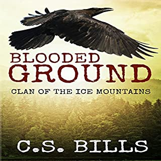 Blooded Ground audiobook cover art