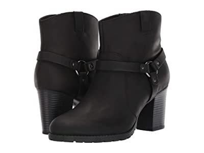 Clarks Verona Rock (Black Leather) Women