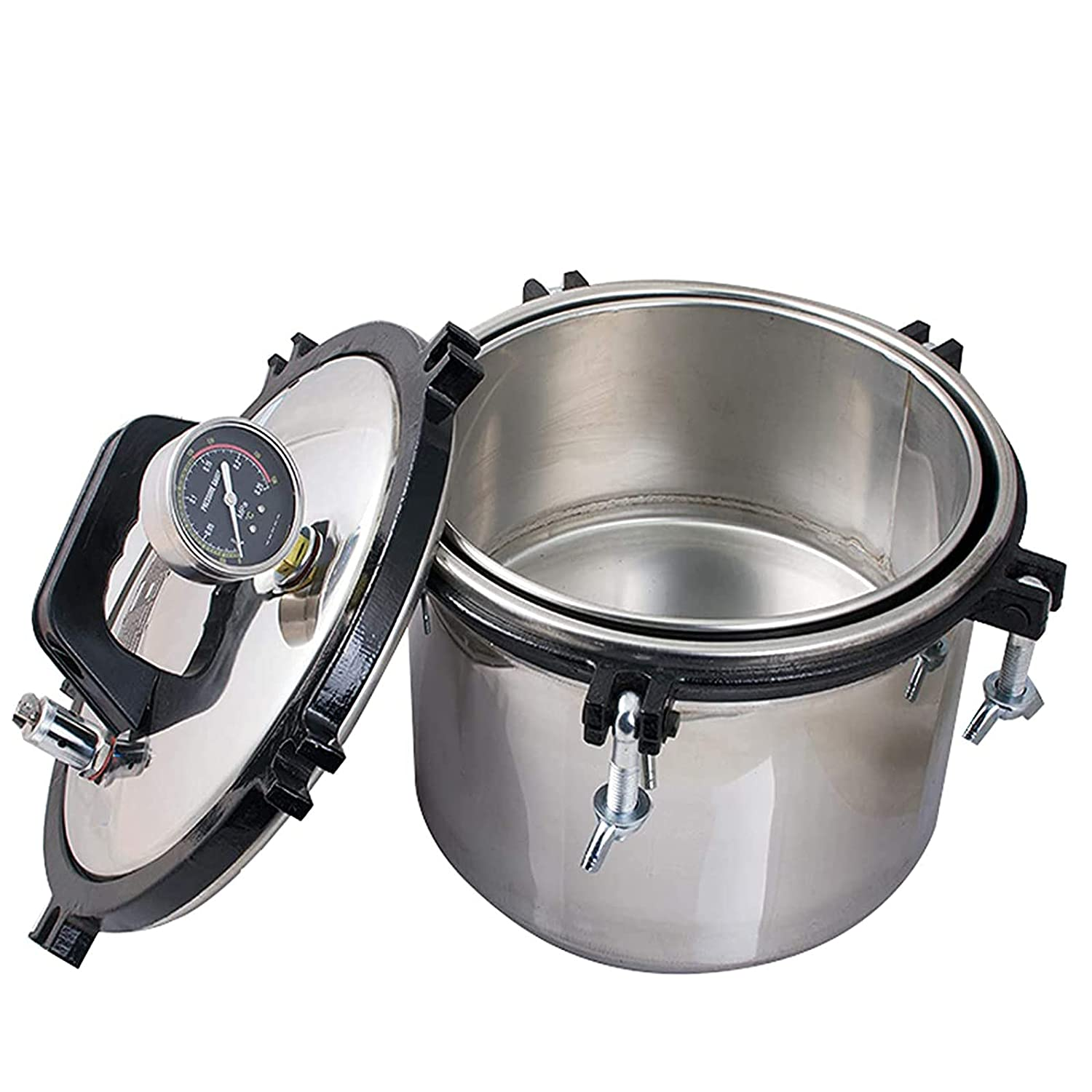 Pevor 2.1 Gallon Steam Autoclave Machine Coal Ranking TOP10 Electric Opening large release sale and - Hea