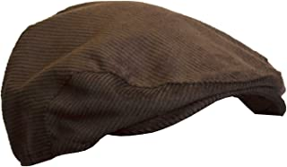 Walker & Hawkes - Uni-Sex Corduroy Classic Flat Cap