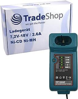 Batteriladdare laddningsstation FP1804F 7,2 V – 18 V Ni-MH Ni-Cd ersätter Makita DC1414F DC1439 DC1470 DC14SA DC14SC DC180...