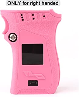 Smok MAG 225W Case for Right Handed Edition, CEOKS Skin Rubber Cover for Smok mag 225W Right Handed Mag TC Mod Box Protective Silicone Texture Case Skin wrap Shield, Anti-Slip & Durable (Pink)