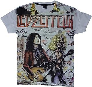 PINCHA Zeppelin Unisex Adult White T-Shirt Shirt Men Women Size S M L XL
