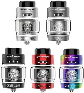 Geekvape Zeus Dual Coil RTA Vape Tank Cigarrillos electrónicos Atomizador (Silver)