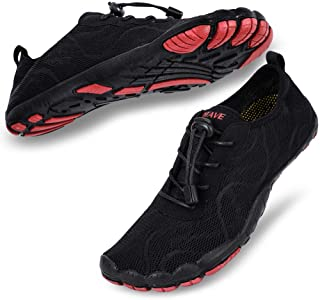 hiitave أحذية مائية للرجال سريعة الجفاف حافي القدم للسباحة وركوب الأمواج والرياضات المائية وحمام السباحة والشاطئ والإبحار
