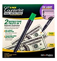 Drimark Dual Detector Pack of 6 (351UVB6) 【Creative Arts】 [並行輸入品]