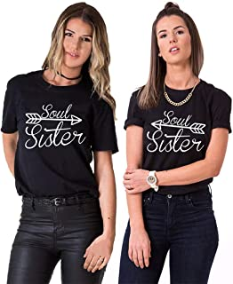 Sister hoodie Set-Best Friends migliore amica Pullover-Grey-cvlr ®