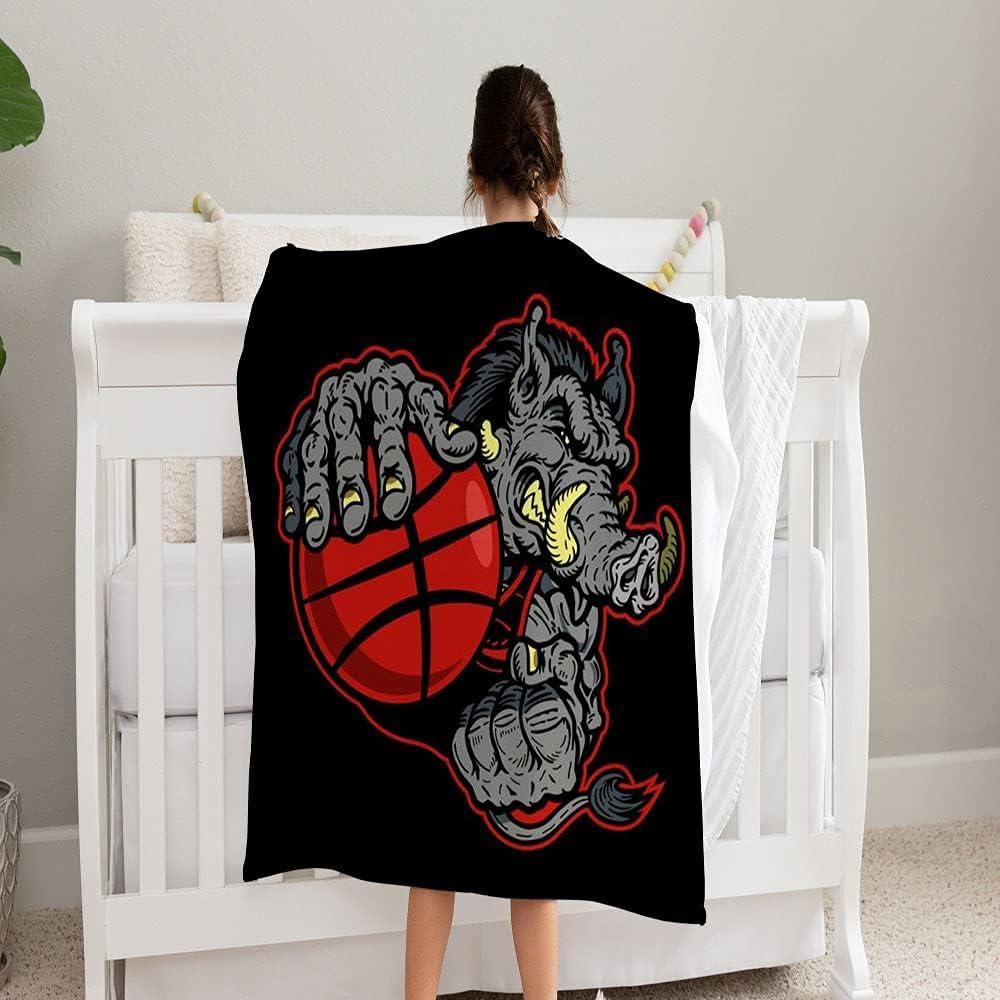 GANTEE Razorback Basketball Denver Mall Player Team Super Blanket Mascot So shopping