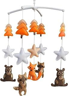 Animal Cloche de lit Cadeaux faits à la main Mobile bébé berceau jouet coloré Jouet à suspendre