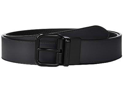 COACH Jeans Reversible Belt (Multi) Men