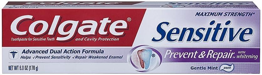 橋脚ピクニックをするパトロンColgate 敏感防ぎ、修理歯磨き粉、6オンス