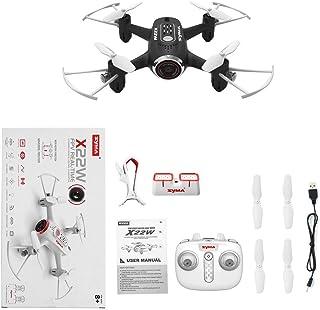 Funnyrunstore Syma X22W 4 Canales WiFi FPV Drone HD con cámara de ...