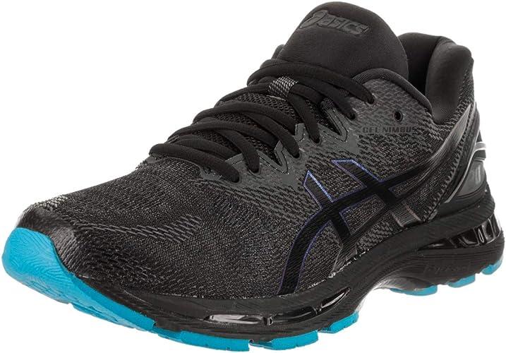 Asics Mens Gel-Nimbus 20 Lite-Show Running chaussures, noir noir, Taille 12