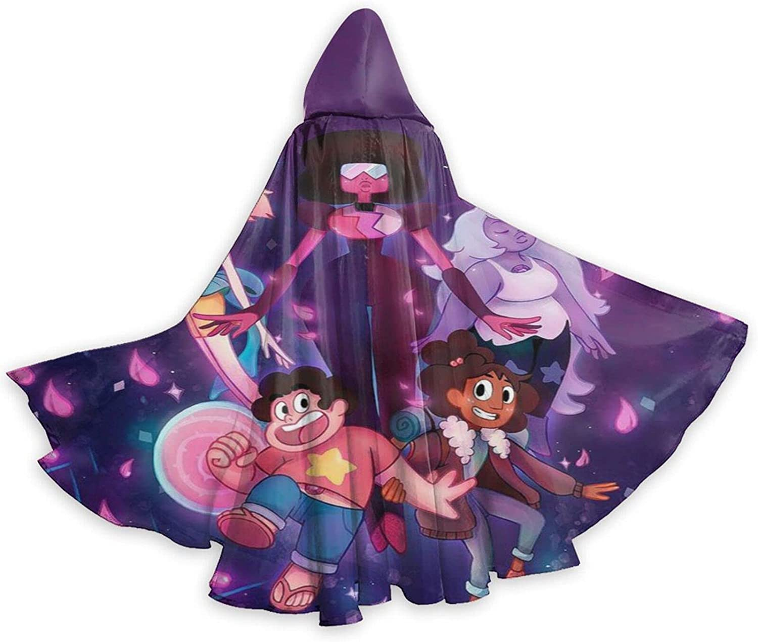 Unisex S-teven Un-iverse Anime Hooded Halloween Wizard Cloa Robe Superior Limited time sale