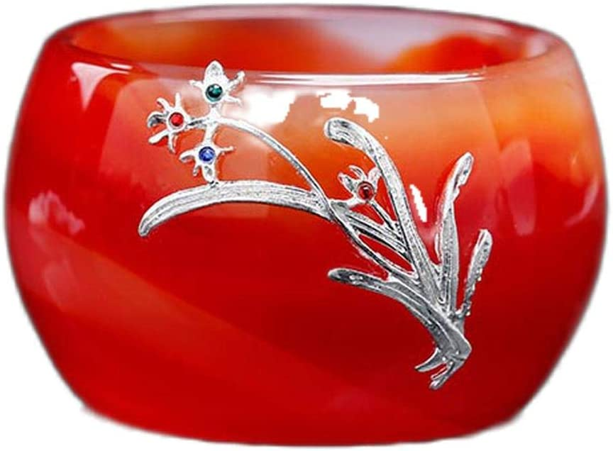 50Ml Colored Glass Teacup Colorado Springs Mall Red Pattern All items free shipping Jade Craft Agate Porcelain