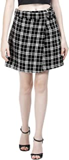 FabAlley Synthetic Wrap Skirt