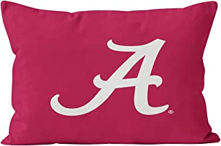 Suike White Alabama A Unique Hidden Zipper Home Decorative Rectangle Throw Pillow Cover Cushion Case King 20x36 Inch One Side Design Printed Pillowcase