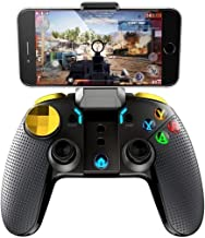 Wireless Game Controller INTSUN Gamepad Joystick Gaming Controller 4.0 Wireless Transmission with Telescopic Controller fo...
