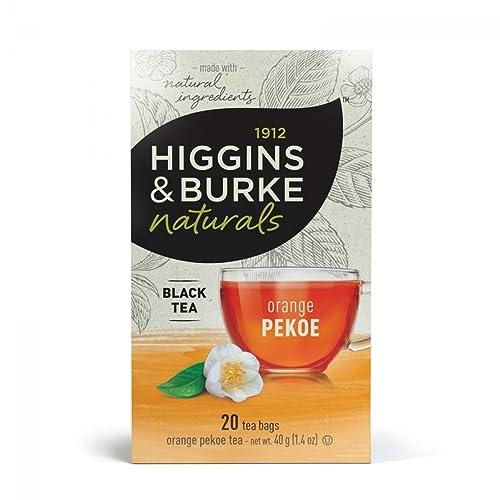 Higgins & Burke Orange Pekoe Tea, 20 Count