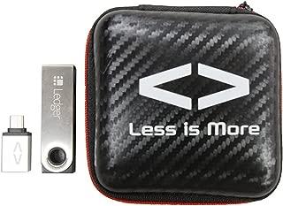 【日本正規品】Ledger Nano S (レジャー ナノS) 仮想通貨ハードウェアウォレット ビットコイン イーサリアム リップル Less is More USB Type-Cアダプタ&ケース付き