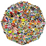 600 pcs Cool Random Stickers Vinyl Skateboard Stickers, Variety Pack for Laptop Guitar Travel Case Water Bottle Car Luggage Bike Sticker Waterproof Graffiti Decals,Gift for Teens Adult