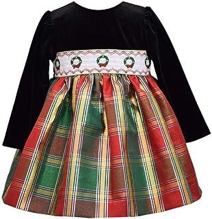 لباس کریسمس تعطیلات دخترانه Bonnie Jean - شلوار آستین بلند دودی برای نوزادان ، کودکان نوپا و دختران کوچک
