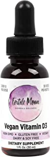 Liquid Vitamin D3 Vegan 2000 IU (50 mcg) Per Dose by Fertile Moon® - Premium Plant-Based Vitamin D3 from Li...