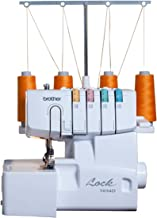 Brother 1034D Serger, Heavy-Duty Metal Frame Overlock Machine, 1,300 Stitches Per Minute, Removeable Trim Trap, 3 Included Accessory Feet
