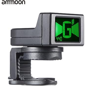 ammoon AT-08 Mini LCD Digital Clip-on Afinador para la Guitarra ...