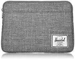 professional Herschel Anchor Sleeve for MacBook / iPad, Raven Cross Hatch, 13inch (New