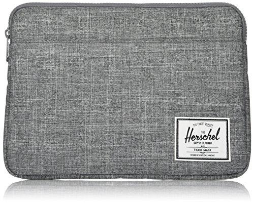 Herschel Anchor Sleeve for MacBook/iPad, Raven Crosshatch, 13-Inch (New