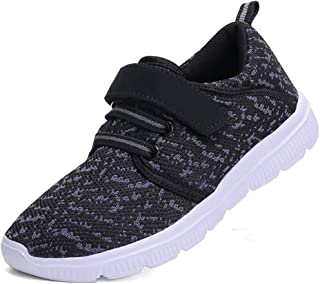 Sweeting Kids Lightweight Breathable Sneakers Easy Walk Casual Sport Shoes for Boys Girls