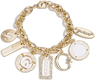 Women's Gold-Tone Enamel Plates Bracelet, NS