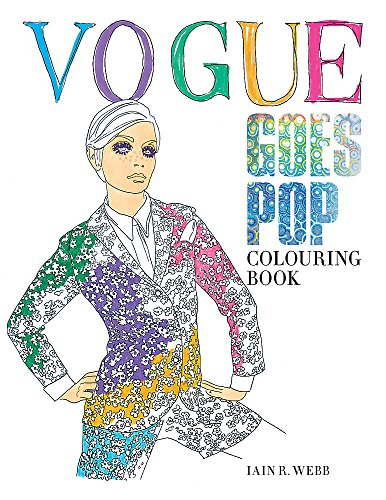 Vogue goes Pop: Colouring Book