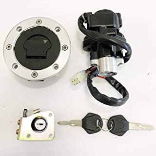 For Suzuki GSXR600 750 Katana 600 750 TL1000R TL1000S Ignition Switch Gas Cap Cover Seat Lock Key Set