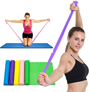 QingJoy Exercise Bands,Resistance Band Exercises Workout,Train Band,Workout Bands,Arm Band Workouts,Arm Exercises with Bands,Band Exercises for Legs,Band of Stability,Best Exercise Bands