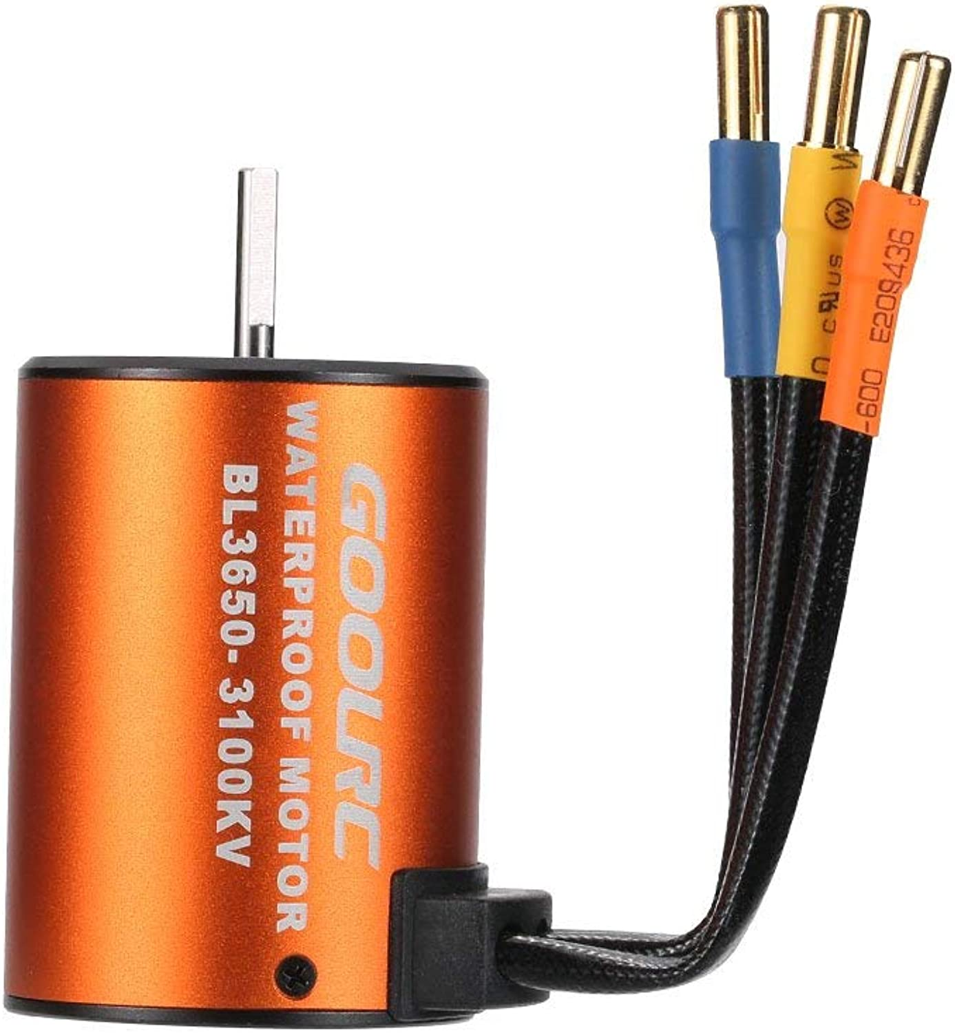 Hatime Upgrade Waterproof 3650 3100KV Brushless Motor with 45A ESC Combo Set for 1 10 RC Car Truck