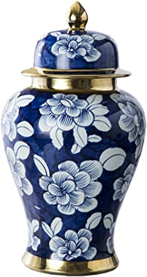 Keramik Chinesisch Blau Weiß Porzellan Kugelschreiber Office Writing Metal