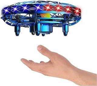 Adesign Aircraft à Induction Toy Smart Floating Ball, évitement d'obstacles Soucoupe Volant d'UFO, Avion à Distance résist...