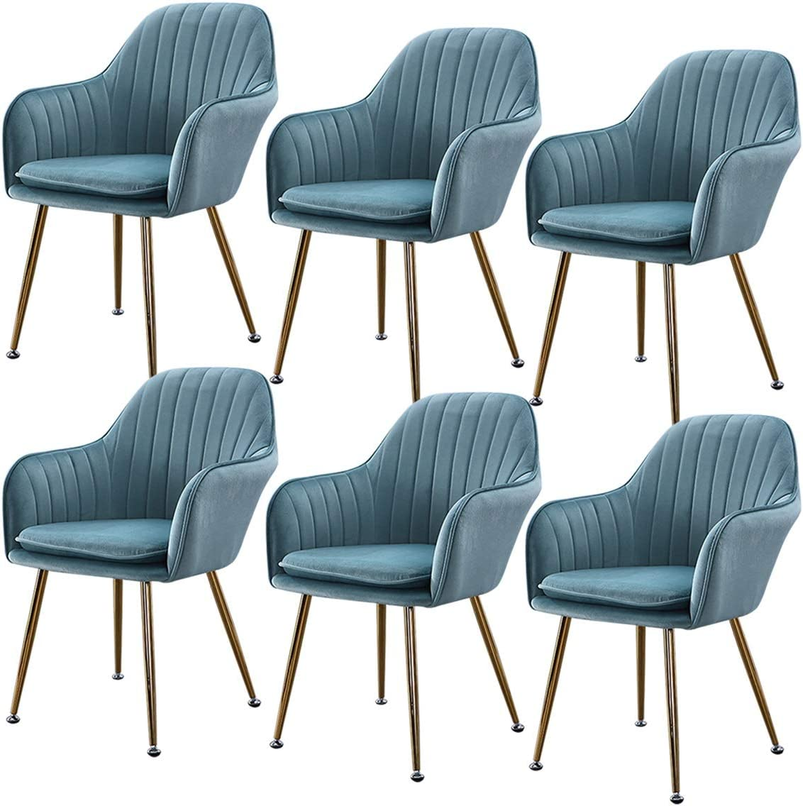 ZCXBHD Light High quality new Luxury Nordic Dining Flannel Fabric Modern Chairs Las Vegas Mall M