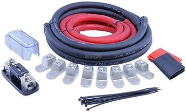 Mechman BIG3 TRU 1/0 Big-3 Red/Black Alternator Wire Kit+250A Fuse Holder