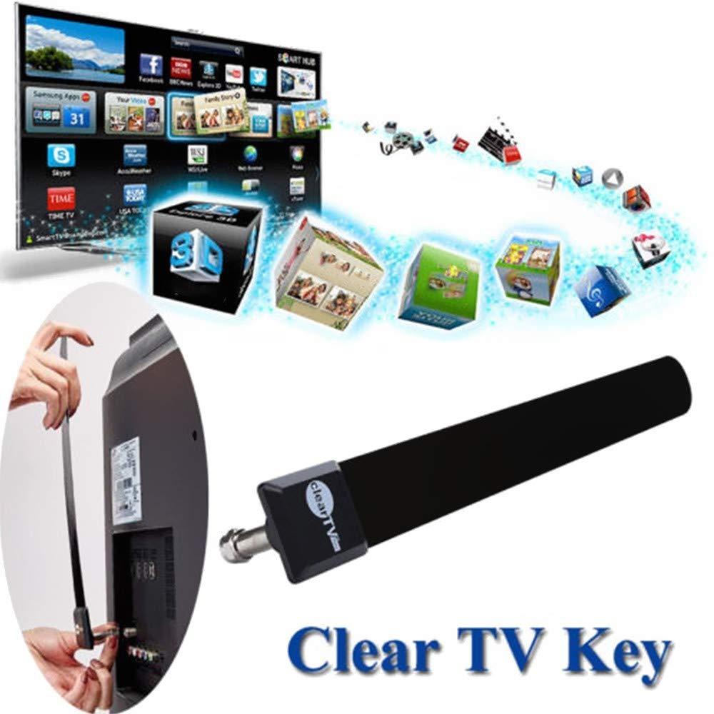 QKP Clave De TV Clara De La UE para EE. UU. HDTV Cable De Zanja ...