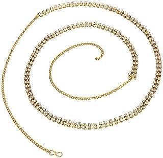 Goldfish Belly Chain Two Line Waist Belt Kamarband for Girls Women