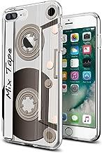 Cool Retro Cassette Tape Case for iPhone 7 Plus iPhone 8 Plus 5.5