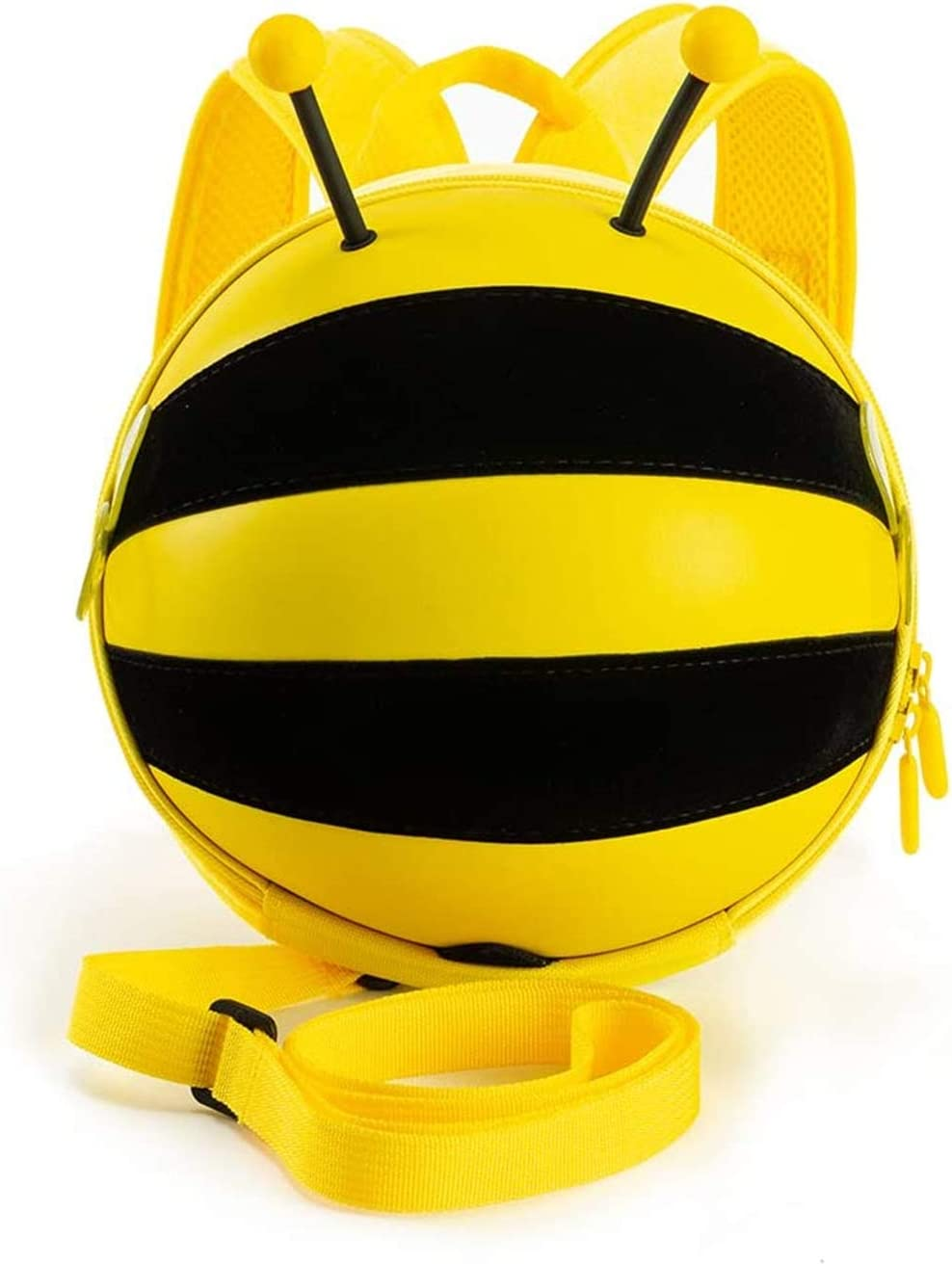 Baby Backpack with Leash for Toddler,Small Bee Backpack for kids,Anti Lost Bag