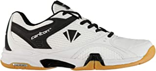 Official Carlton Airblade Tour Badminton Indoor Court Shoes Mens White Trainers Sneakers