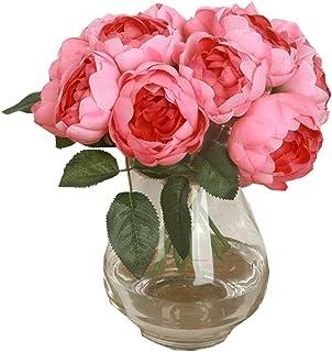 ext/érieur int/érieur Bureau d/écoration Balcon f/ête Jardin JaneYi Lot de 6 Fleurs artificielles en Plastique Gypsophile Artificiel Arbuste Floral Arrangement Floral pour Bricolage Cuisine
