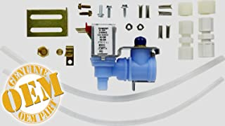 2002182 NEW OEM FACTORY REFRIRATOR DUAL ICE MAKER WATER VALVE FOR (Original Part. Dual water valve kit for refrirators with water dispenser and ice maker. Replaces all previous versions. Fits most , (with model prefix 106), , , , Costco, and other bRands of refrirators)