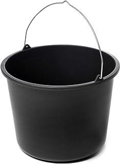acerto 40534 - Cubo de limpieza (20 L, plástico), color negro